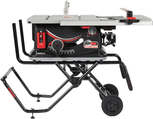 SawStop JSS 120A60 Safe Flesh Detecting Table Saw With Rolling Stand