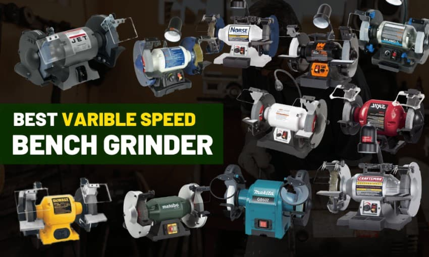 Varible Speed Bench Grinder Review
