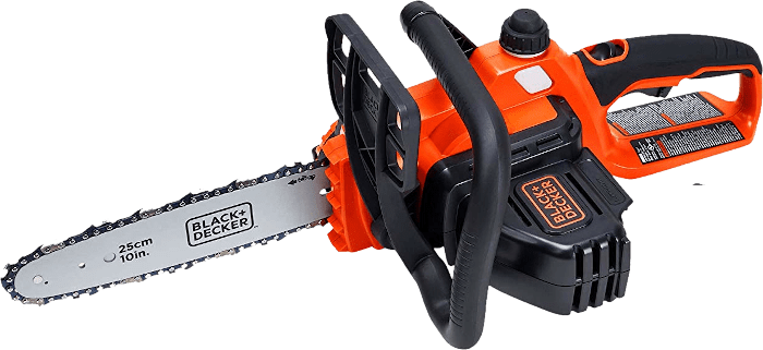 BLACKDECKER LCS102 20V Cordless Chainsaw 7 2 lbs 10 Inch Bar