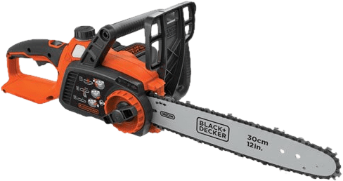 BLACKDECKER LCS1240 40V Cordless Chainsaw 10 4 lbs 12 Inch Bar