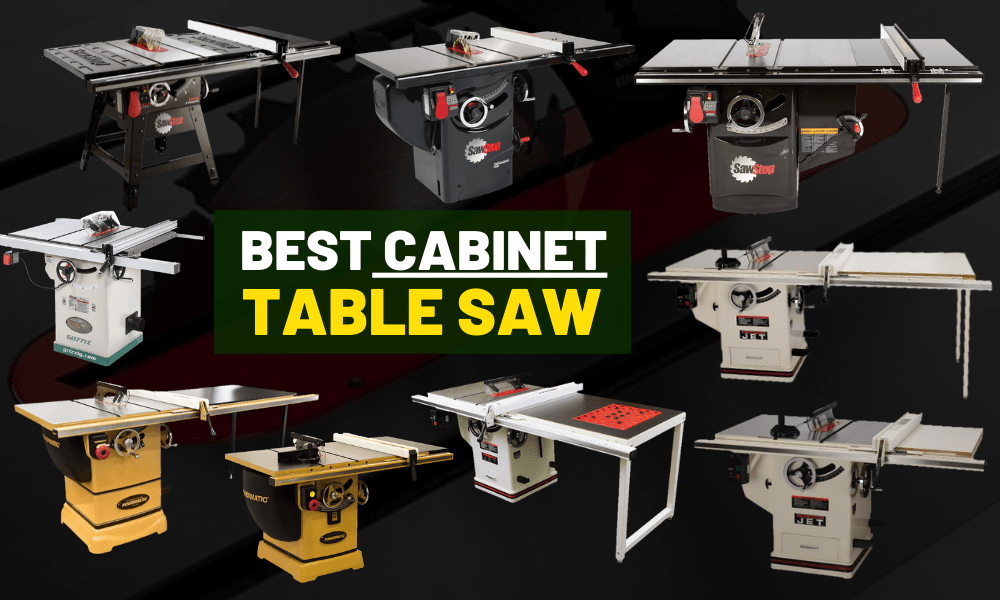 Best cabinet table saw [For serious woodworkers]