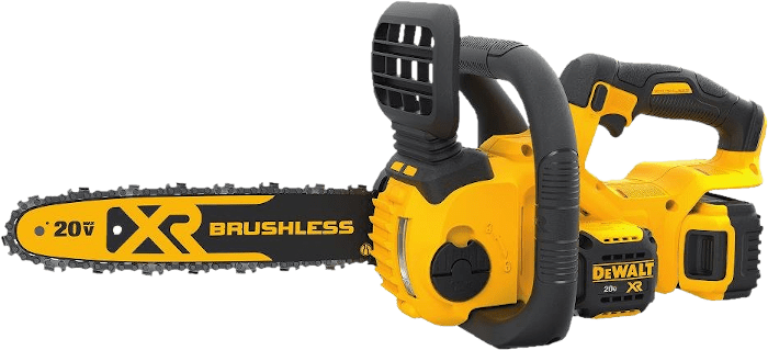 DEWALT DCCS620P1 Brushless Cordless Chainsaw 8 8 lbs 12 Inch Bar