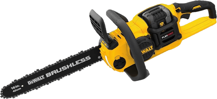 DEWALT DCCS670X1 60V Brushless Cordless Chainsaw Kit 12 2lbs 16 Inch Bar