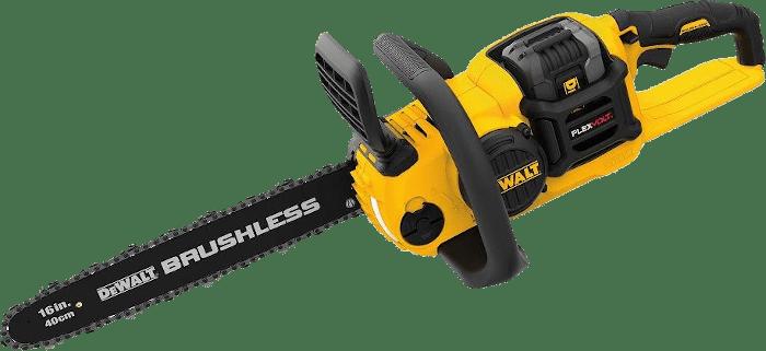 DEWALT DCCS670X1 60V Brushless Cordless Chainsaw Kit 12 2lbs 16 Inch Bar