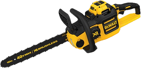 DEWALT DCCS690H1 40V Brushless Cordless Chainsaw 13 2 lbs 16 Inch Bar