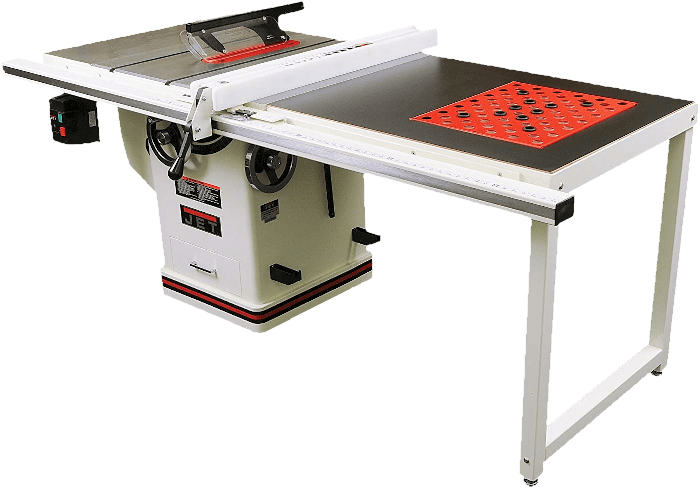 Jet 708678PK Commercial Table Saw With A 50 Inch Rip Fence 3HP