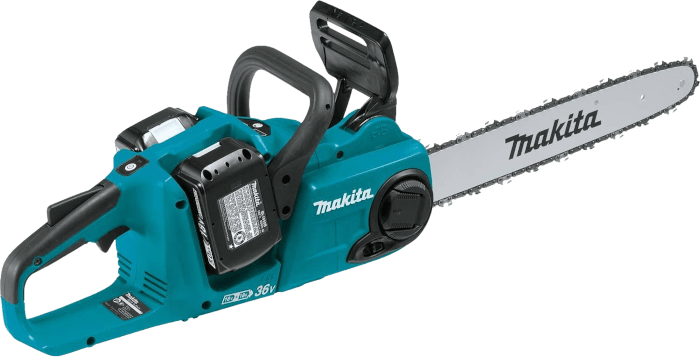 Makita XCU04PT 36V Brushless Cordless 11 7 lbs 16 Inch Bar