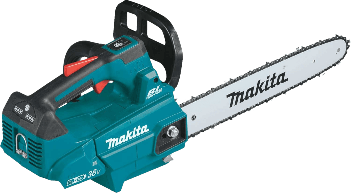 Makita XCU09PT 36V Brushless Cordless Chainsaw 10 3 lbs 16 Inch Bar Short Base