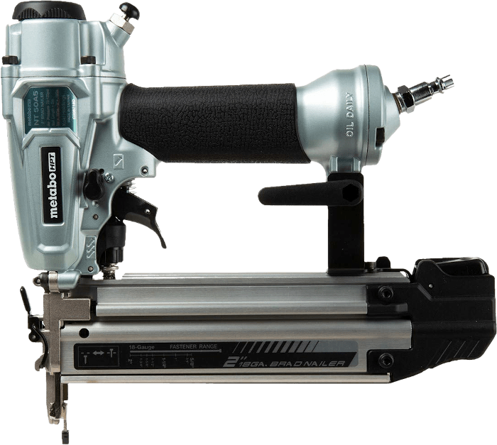 Metabo HPT NT50A5 Straight Compressed Air Brad Nailer 18 Gauge