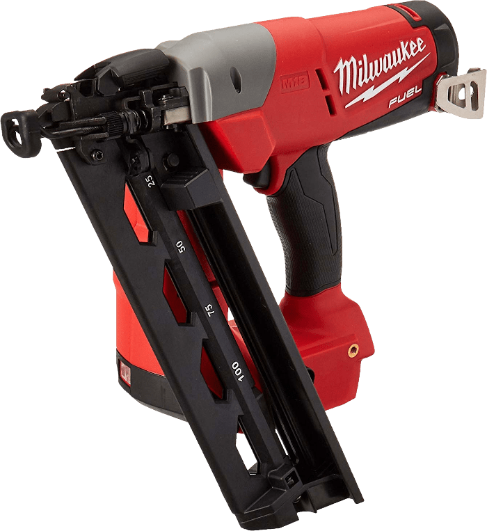 Milwaukee 2742 21CT Brushless Cordless Angled Finish Nailer Kit 16 Gauge