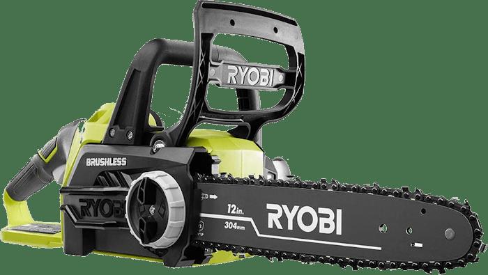 Ryobi ONE 18V Brshless Cordless Chainsaw 15 lbs 12 Inch Bar