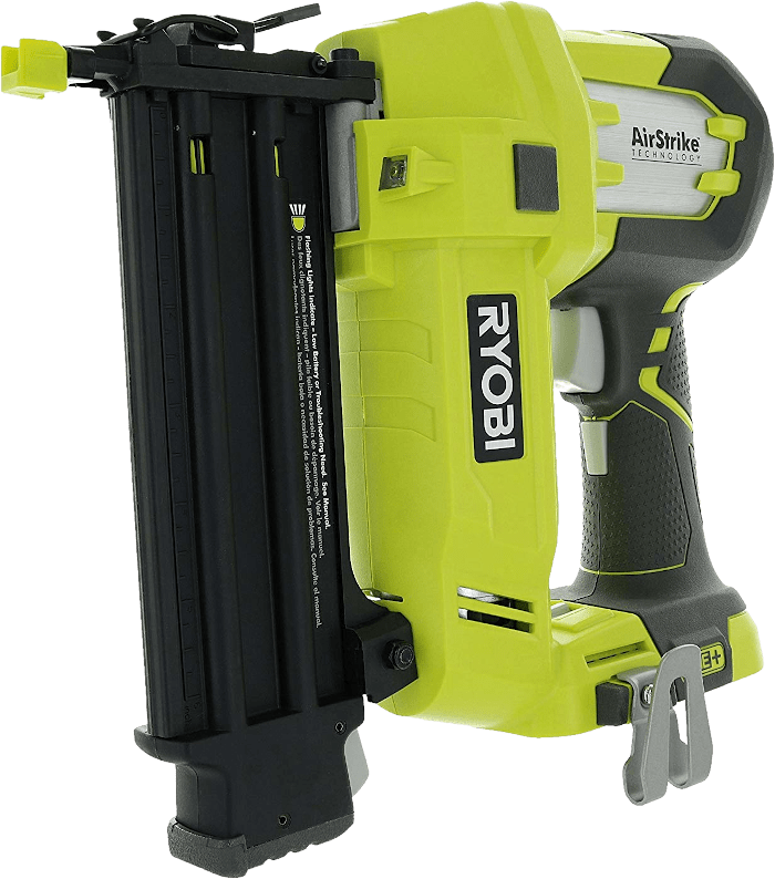 Ryobi P320 Cordless Straight Brad Nailer kit 18 Gauge