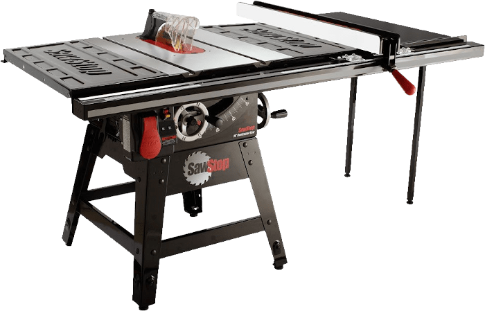 SawStop CNS175 TGP36 Contractor Workshop Table Saw 36 Inch 1 75 HP