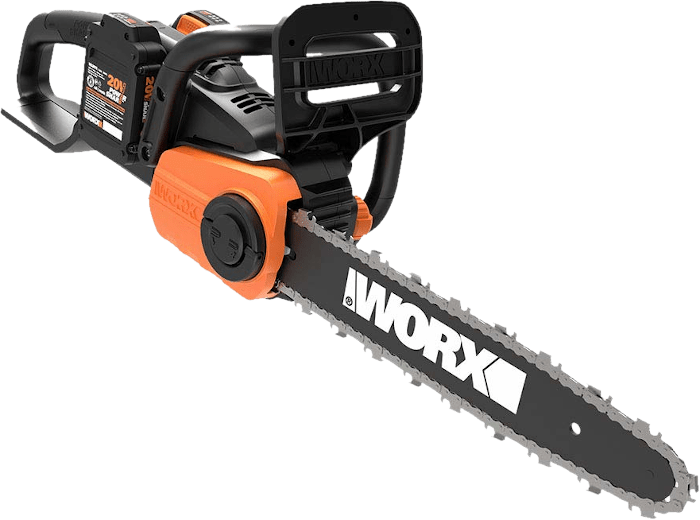 WORX WG384 40V Cordless Chainsaw 11 lbs 14 Inch Bar