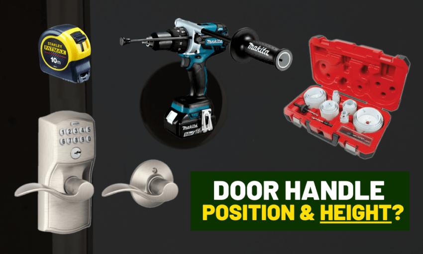 Standard Door Handle Height