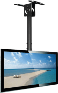 Everstone full motion TV ceiling mount for 23 55 inch screens
