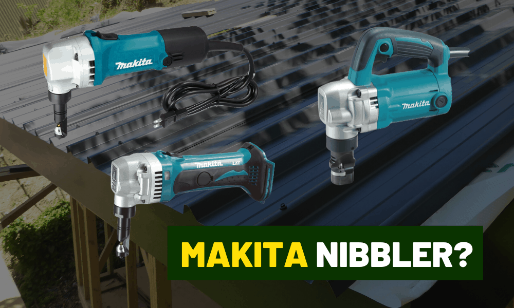 Makita nibbler review | JN1601 vs the cordless XNJ01Z