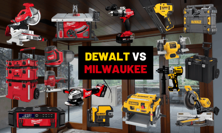 Dewalt vs Milwaukee what tool brand is better