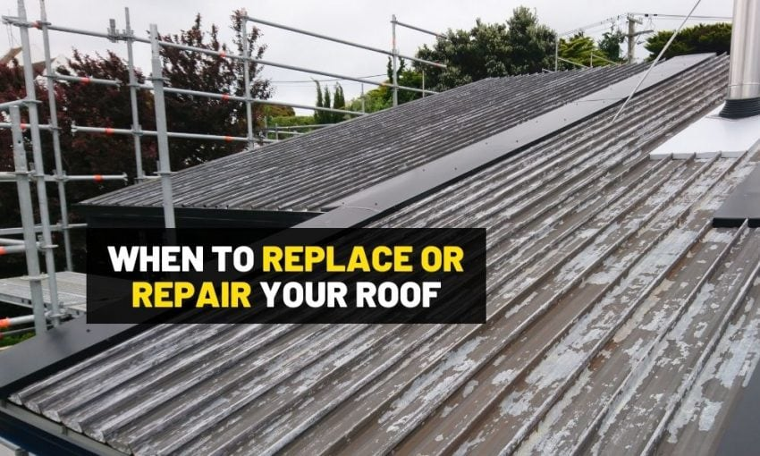 When to replace or repair your roof?