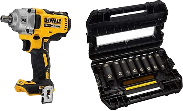 DeWalt DCF894B 3 48lbs 330 ft lbs impact wrench