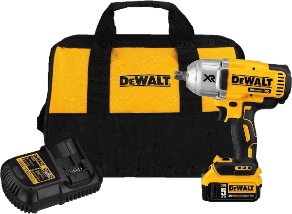 DeWalt DCF991P1 6lbs 700 ft lbs cordless impact wrench