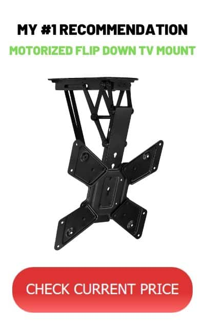 Recommended best Motorized ceiling TV mount