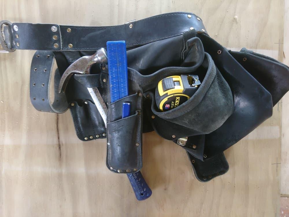 Aaron leather tool belt