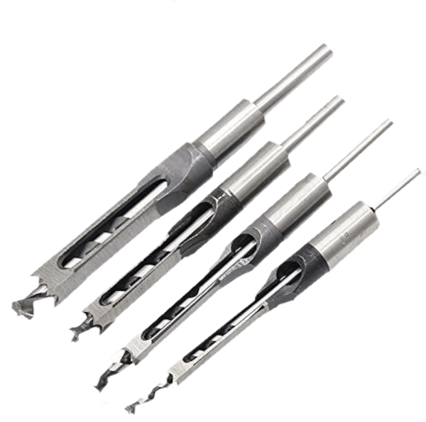 Amena 4pcs HSS Mortising drill bits