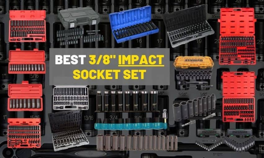Best 3 8 impact socket set