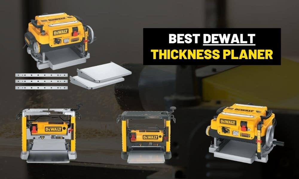 Best DeWalt thickness planer? | DW735x, DW735, or DW734