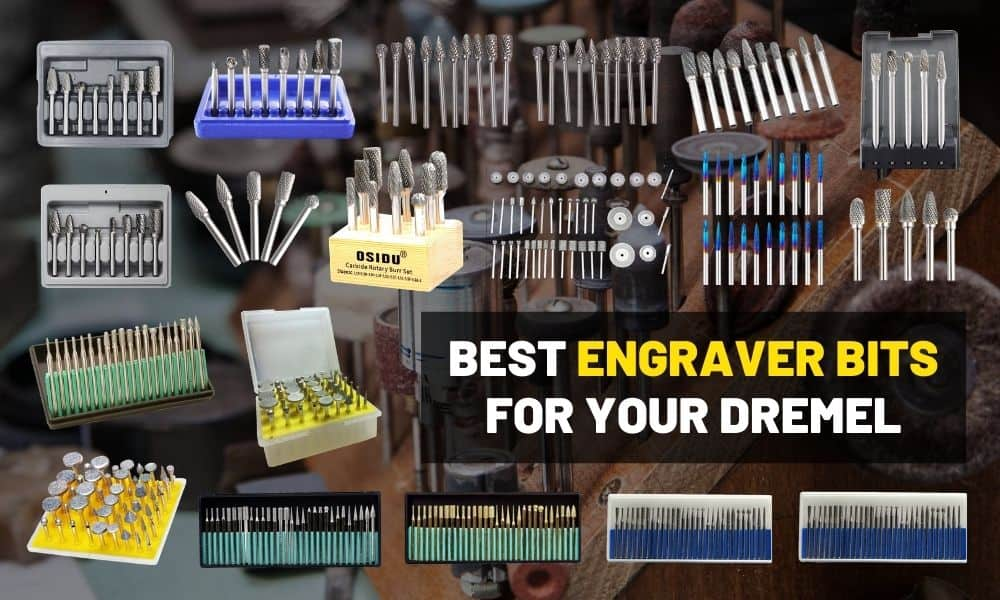 Best Dremel bits | Engraver tungsten carbide & diamond burrs
