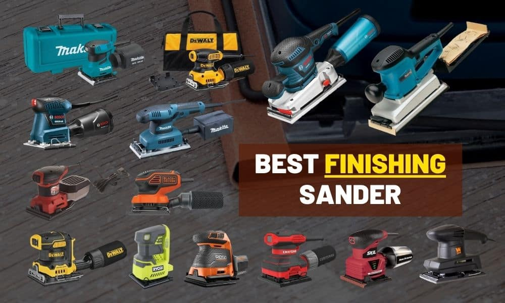 Best finishing sander | Makita or Bosch? For refinishing furniture