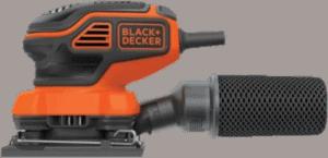 Black Decker BDEQS300 1 2 in 2 amp Finishing sander