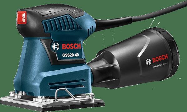 Bosch GSS20 40 1 4 in 2 amp Finishing sanders