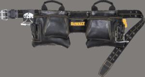 DeWalt DG5472 12 pockets 29 to 46 inches top grain leather tool belt
