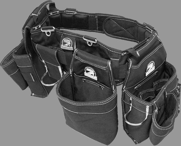 Gatorback B145 14 pockets 36 to 40 inches belt nylon leather tool belt