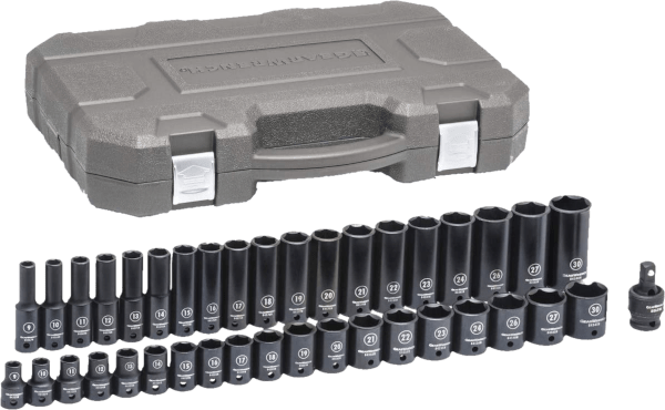 Gearwrench 84947N 39 pcs 1 2 in SAE impact socket set