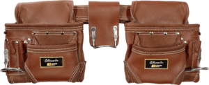 Leather Gold 3450 10 pockets 30 to 45 inches belt genuine leather tool belt