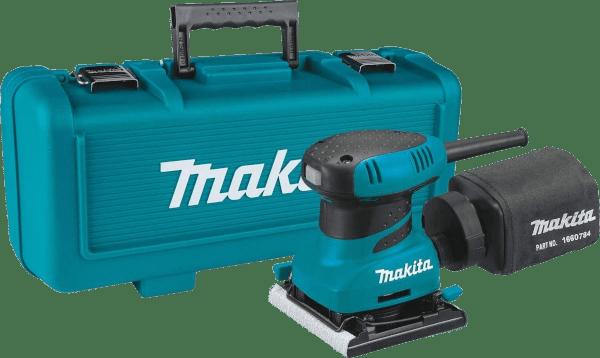 Makita B04556K 1 4 in 2 amp Finishing sander