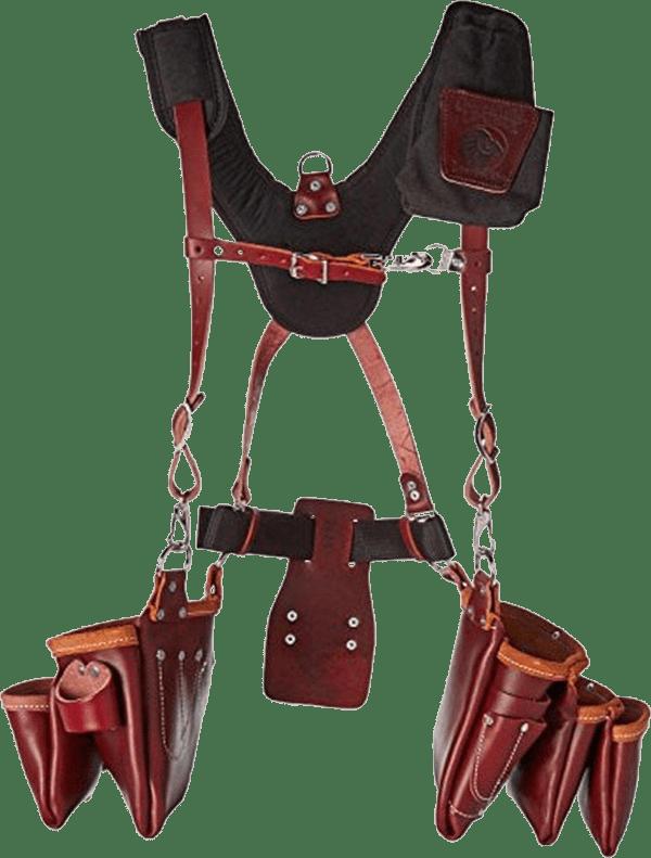Occidental Leather 5093 25 pockets beltless framer bag