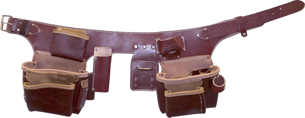 Occidental Leather 5191 LG Pro 22 pockets 37 to 44 inches top grain leather tool belt