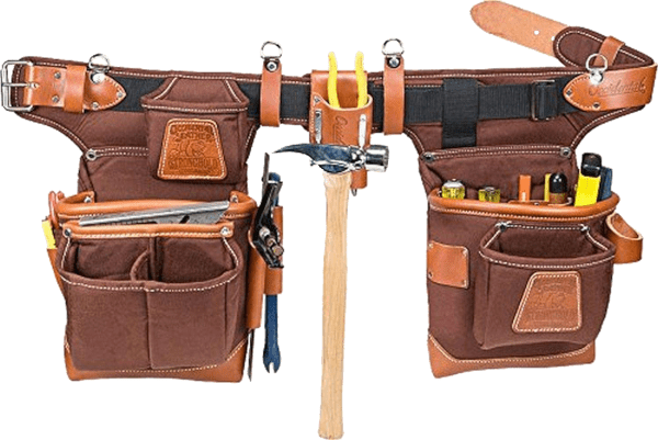 Occidental Leather 9855 24 pockets 32 to 41 inches belt nylon leather tool belt