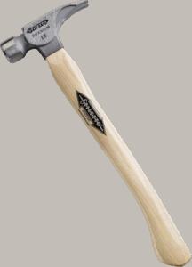 Stiletto Ti16SC 16 oz 18 inch hickory smooth faced hammer