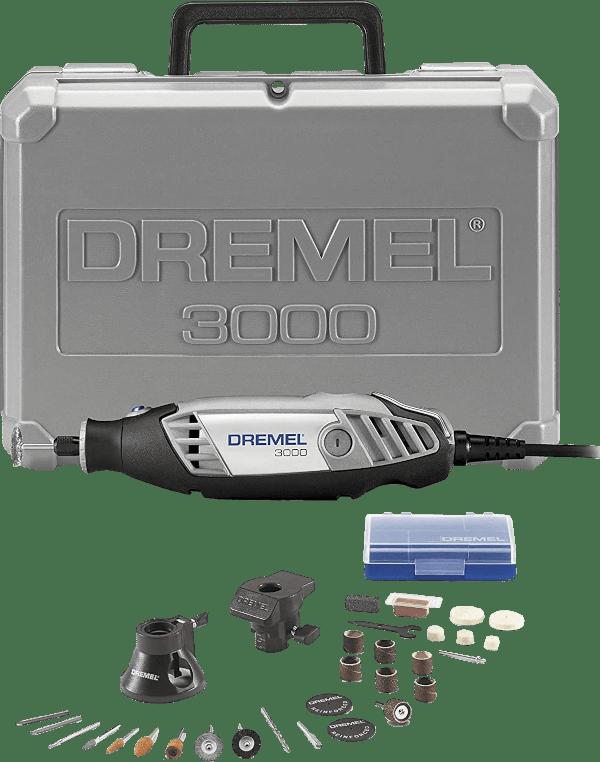 Dremel 3000 2 28 28 pcs 5 000 to 35 000 rpm 1 2 amp rotary tool kit