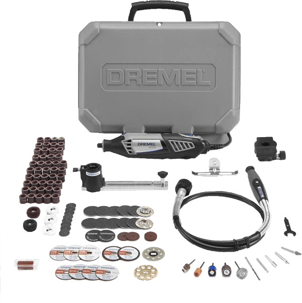 Dremel 4000 2 30 30 pcs 5 000 to 35 000 rpm 1 6 amp rotary tool kit