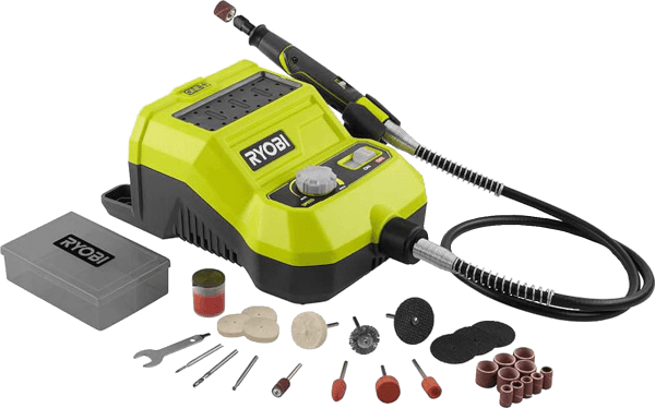 Ryobi One 33pcs up to 34 000 rpm 18V cordless rotary tool kit