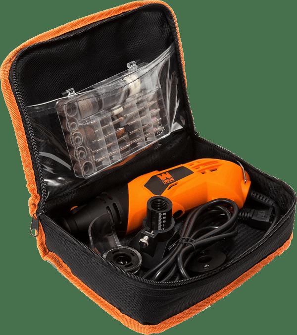 Wen 23114 100 pcs 8 000 to 35 000 rpm 1 4 amp rotary tool kit