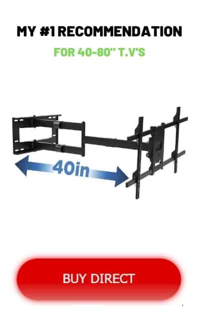 Buy direct Longest extending tv wall mount
