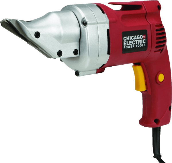 Chicago Electric 68199 cuts up to 14 GA MS 4 amp double cut metals shears