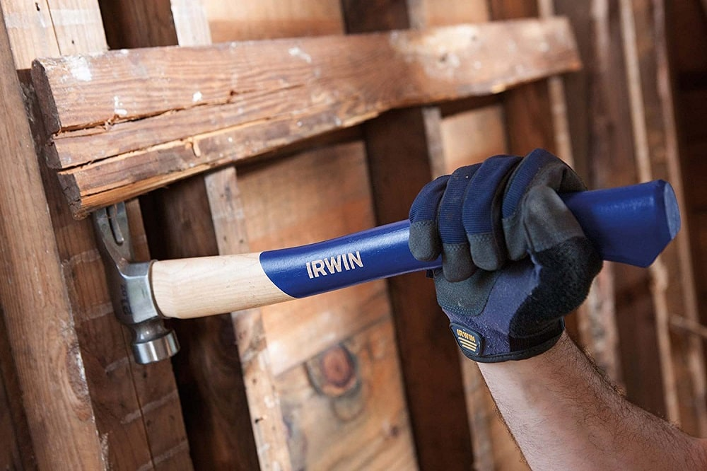 Irwin Tools milled face steel framing hammer
